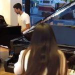Novak Đoković je i vrhunski pijanista?! (VIDEO)