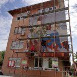 Počelo oslikavanje sedmog murala (FOTO i VIDEO)