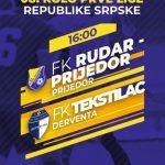 Mazić Slaviša sudi utakmicu Rudar Prijedor-Tekstilac