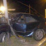 Automobilom udario u betonsku banderu, suvozač poginuo na licu mjesta