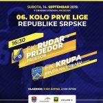 Marić Dražen sudi utakmicu Rudar Prijedor-Krupa