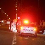 Prevrnuo se automobil u banjalučkom naselju Zalužani (FOTO)