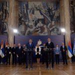 Dodik nakon sastanka poručio: Odbacujemo deklaraciju, Srpska je prioritet (FOTO i VIDEO)