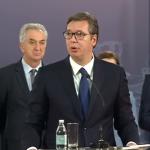 Vučić pozvao na smirivanje tenzija (VIDEO)