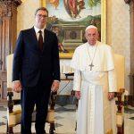 Vučić: Vatikan će čuvati poziciju o pitanju samoproglašenog Kosova