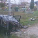 AUTOMOBIL PREPOLOVLJEN, PUTNICI PROŠLI SA OGREBOTINAMA Nevjerovatna nesreća kod Bugojna