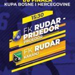 Bandić Antoni sudi utakmicu 1/8 finala Kupa BiH Rudar Prijedor-Rudar Kakanj
