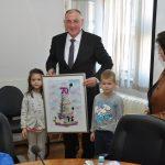 """Prijem kod gradonačelnika za mališane Dječijeg vrtića """"Radost"""" (FOTO)"""