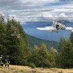AVION SE ZAPETLJAO U ŽIČARU Dramatična spasilačka akcija na sjeveru Italije