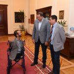 Nik Vujičić se zahvalio Dodiku na ugodnoj dobrodošlici (FOTO/VIDEO)
