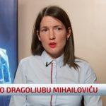 Jelena Trivić za N1 odbila da kaže šta misli o Radovanu Karadžiću, ali NE i o Drži Mihajloviću (VIDEO)