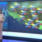 U srijedu oblačno sa slabom kišom (VIDEO)