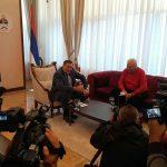 Sastanak Dodika i Pavića u Banjaluci (VIDEO)