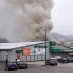 "Veliki požar u poslovnoj zoni ""Bukva"" u Tešnju (VIDEO)"