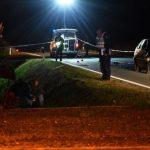 Auto naletio na traktor, vozač traktora poginuo na mjestu (FOTO)