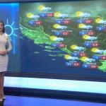 U ponedjeljak oblačno i suvo (VIDEO)