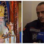 Mitropolit Amfilohije odlikuje policajca Šćepanovića (VIDEO)