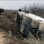 Prevrnuo se autobus na putu ka Kopaoniku (VIDEO)