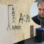 Novi grafit mržnje u Hrvatskoj: Pupovac na vješalima