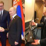 Putin poklonio Vučiću pušku Milana Obrenovića (FOTO)