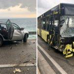 Užasan sudar autobusa i auta, jedna osoba poginula