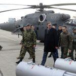 Vučić na prezentaciji helikoptera: Srbija ovo nikada nije imala (FOTO/VIDEO)
