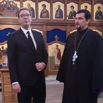 PREDSJEDNIK SRBIJE U BUGOJNU Vučić posjetio rodno mjesto svog oca (FOTO)