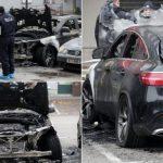 Zapalio Mercedes zbog svađe sa poslovođom, nije uspio iz prve pa se vratio