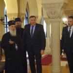 Počeo sastanak Dodika i patrijarha Irineja