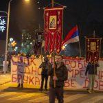 Foča: Litija za pravoslavnu braću i sestre u Crnoj Gori (FOTO)