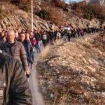 NEVJEROVATAN PRIZOR Kuči stižu u Podgoricu na litiju za odbranu svetinja (VIDEO)