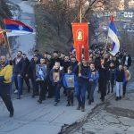 Pješačili 50 kilometara za odbranu svetinja - litija stigla u Bijelo Polje (FOTO/VIDEO)