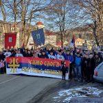 Najduža litija do sada: Narod rano jutros krenuo ka Bijelom Polju (FOTO)
