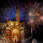 Pravoslavna Nova godina; Doček u više gradova