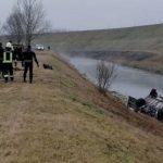 Vatrogasci izvukli vozilo iz odvodnog kanala, u njemu našli tijelo mladića