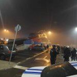 U Podgorici više povrijeđenih i uhapšenih (VIDEO)
