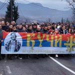 U Podgorici preko 40.000 ljudi: Trobojka označava slobodu, jednakost i bratstvo (FOTO)