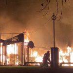 Lokalizovan požar na splavu u Novom Beogradu (FOTO/VIDEO)