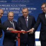 "Putin, Vučić, Borisov i Erdogan pustili u rad ""Turski tok"" (FOTO/VIDEO)"