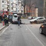 VELIKE GUŽVE Nakon sudara obustavljen saobraćaj na izlazu iz Jablanice