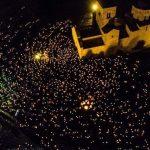 Pred manastirom Đurđevi stupovi 10.000 građana (FOTO/VIDEO)