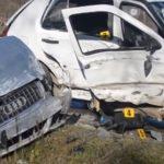 """Žena stradala kod Prijedora: Vozač """"golfa"""" zbog klizave ceste izgubio kontrolu (VIDEO)"""