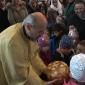 """Mališanima Dječijeg vrtića """"Radost"""" svetosavski paketići u crkvi Svete Trojice (VIDEO)"""