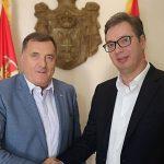 Vučić sutra sa Dodikom u Beogradu