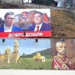 Mrkonjić Grad uoči dolaska Vučića (FOTO)