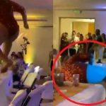 POTPUNI FIJASKO NA SRPSKOJ SVADBI! Ovako izgleda kad MAJKA ŽENI SINA - skočila na sto i uradila ŠPAGU, od težine ga RAZBILA (VIDEO)