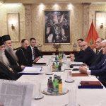 Vlada Crne Gore objavila snimak susreta mitropolita Amfilohija i premijera (VIDEO)