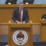 """GOODBYE BiH, WELCOME RS-EXIT"" Oštar govor Dodika u Narodnoj skupštini"
