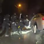 Hapšenje zbog pokušaja ubistva: Krenuo da bježi, pa završio u kanalu (VIDEO)