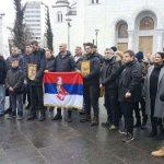 Najveći podvig u borbi za svetinje: Hrabra četvorka ide pješke iz Beograda za Podgoricu (VIDEO)